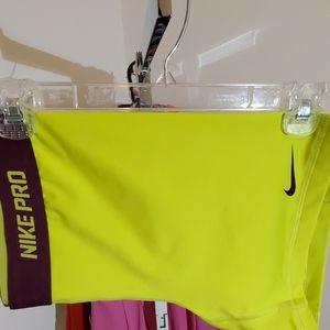 NikePro drifit athletic training shorts